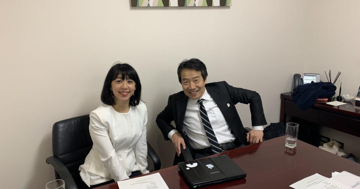 船川淳志と大塚美幸さん