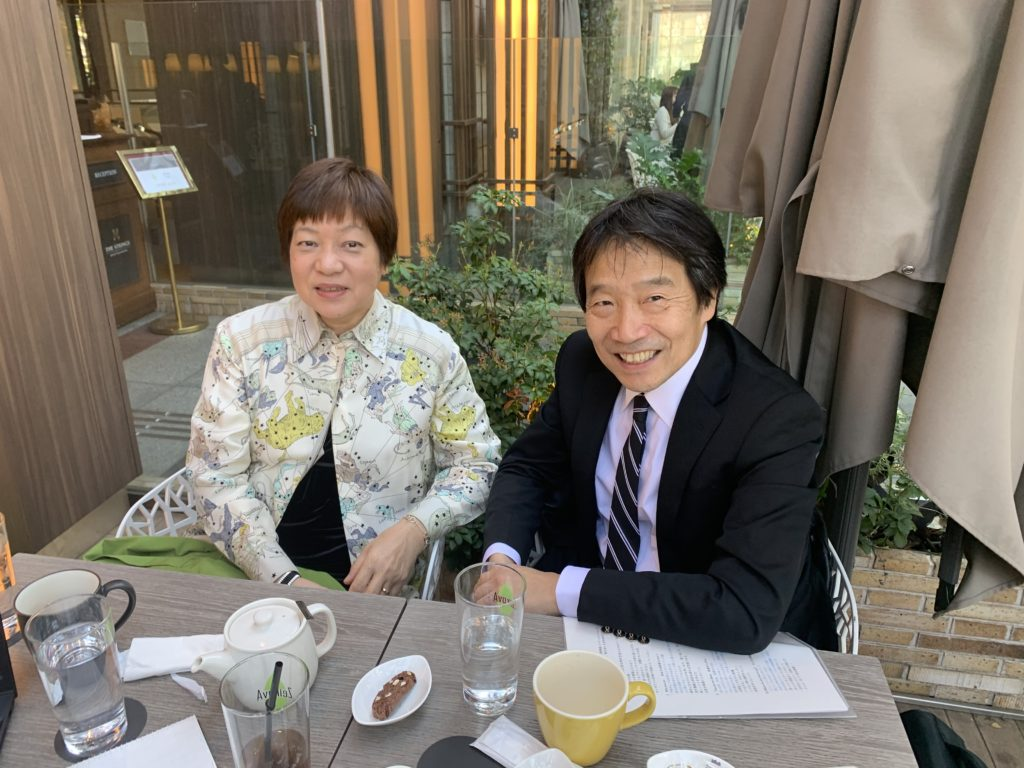 船川淳志と青栁伸子氏